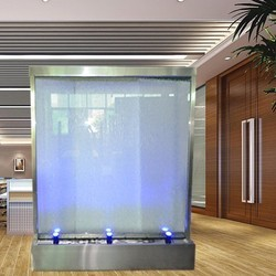Glass Screen Indoor Fountain