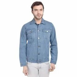 Skupar Plain Men Denim Jacket