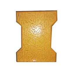 Cement Rough Colored I Shape Paver Block for Floor