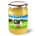 Butter Man 1 Liter Country Desi Ghee, Packaging Type: Glass Jar And Tin