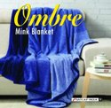 Assortd Printed Ombre Mink Blanket, Size: Single Bed