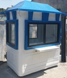 FRP Security Cabin - 4' x 6' x 8'