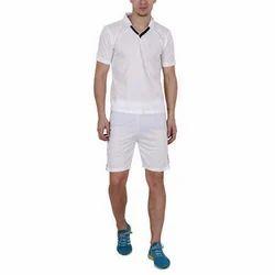 White S-XXL Mens Short Sleeve T-shirt Shorts