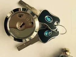 NADIA Iron 122 High Security Almirah Black Key