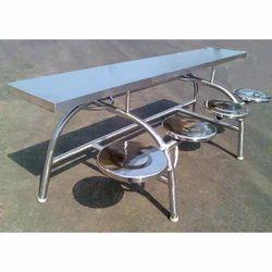 Ss Silver Canteen Table
