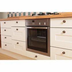Kitchen With Oven Storage