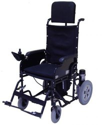 Powered Wheelchair With Detachable Back Rest