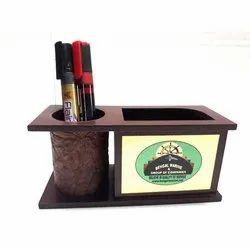 Wooden Promotional Pen Stand