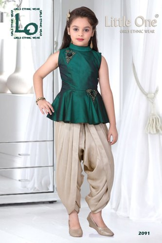 Kids Ladies Dhoti At Rs 1200 Piece Dadar East Mumbai Id 18897946330