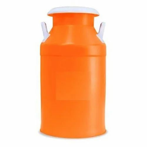 Abs Plastic Orange 20L Plastic Milk Can, Capacity: 20 L, For Dairy