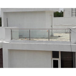 S Glass Railing
