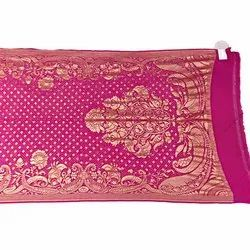 All Over Pink Color Fancy Design Banarasi Georgette Bandhani Dupatta