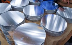 Aluminium Aluminum Round Plate, Size: 4Inch, Thickness: 2