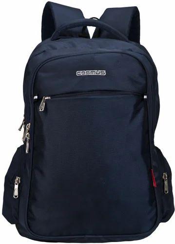 Polyester Navy Blue Atomic Laptop Backpack Bag d80fe26995f7b