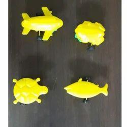 Nimit Enterprises Yellow Pull Back Toys