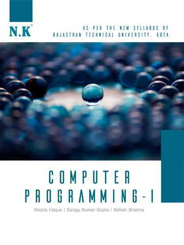 Computer Programming I Books