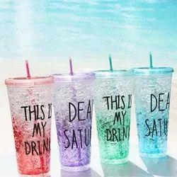 Ice Straw Glass