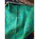 Women's Silk Kantha Circle Embroidery Scarf