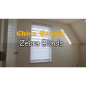 Pvc Manual Interior Zebra Blind