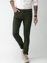 Green Cotton Trouser For Man