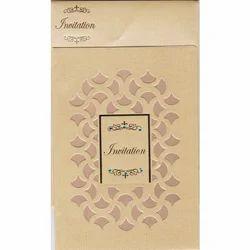 Gloss Paper Printed Muslim Wedding Card