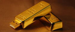 Gold Bar USB Pen Drive