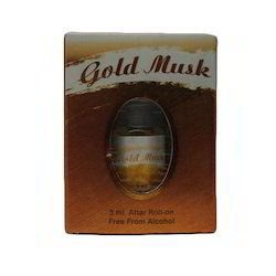Gold Musk Attar Perfumes
