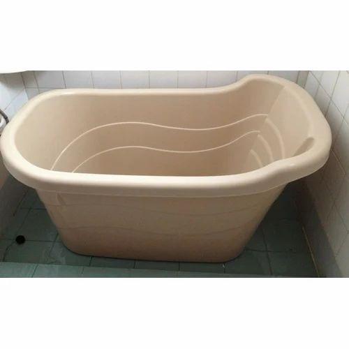 Light Brown Plastic Bathtub, Rs 85000 /piece, Shinzuru India Pvt ...
