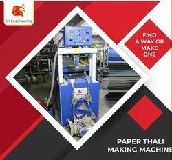Vertical Indian Thali and Plate Making Machine