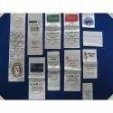Garment Satin Printed Label
