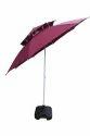 Garden Umbrella-8' Wine Red-Double Layer