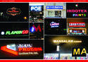 Colorful LED Sign Board