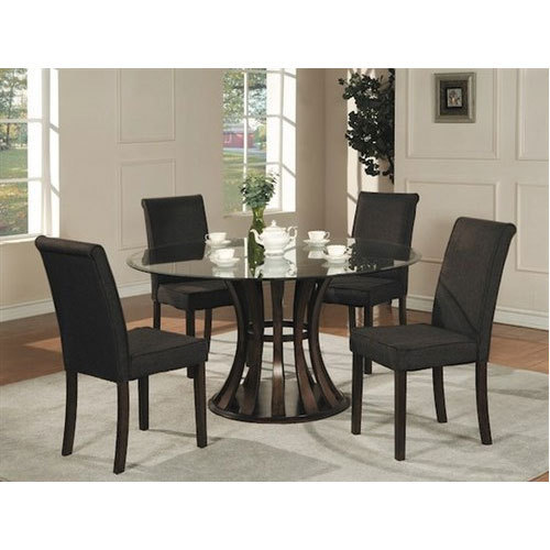 4 Seater Glass Dining Table at Rs 7000 /set | Glass Dining Table ...