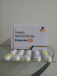 Glimepiride And Metformin Tablets ( Bilayer)