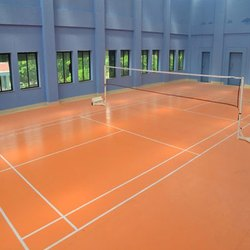Vinyl Sports Flooring Service