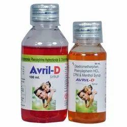 Dextromethorphan Phenylephrine CPM And Menthol Syrup