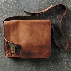 Leather Messenger Bag for Men's