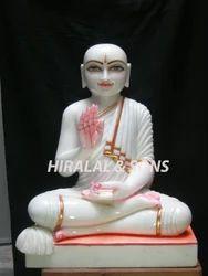 Marble Gautam Swami Statues