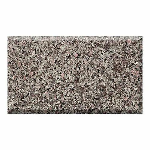 Bush Hammered Apple Green Granite, Thickness: 17-20 Mm