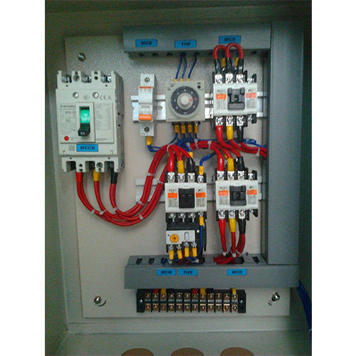 Three Phase Star Delta Panel  Rs 40000   Unit  Logic Automation Controls