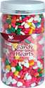 CAKE DECORATING SPRINKLE CANDY HEART