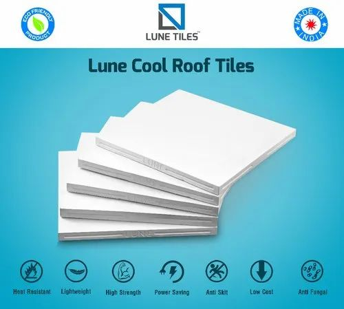 White Cool Roof Tiles