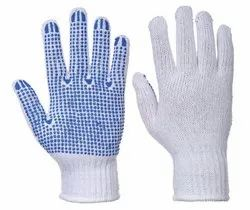 Polka Dotted Grip Gloves