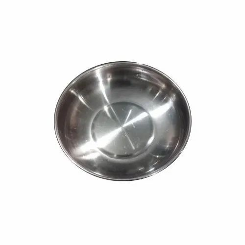 Silver Round Stainless Steel Bowl, Packaging Type: Box, Size: 5 To 6 Inches