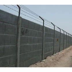 Precast RCC Boundary Wall
