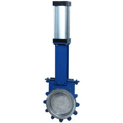Knife Edge Gate Valve with Manual Gear Operating