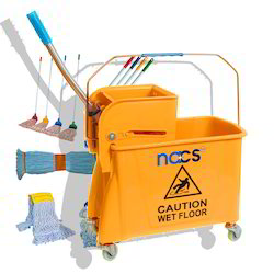 Single Bucket Mop Trolley
