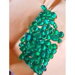 Semi Precious Emerald Gemstone