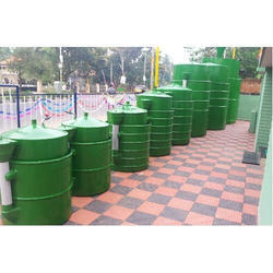 15 Cubic Meter Waste Management and Biogas Storage Tank
