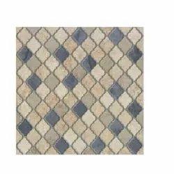 White Ceramic Drift Mix Designer Floor Tiles
